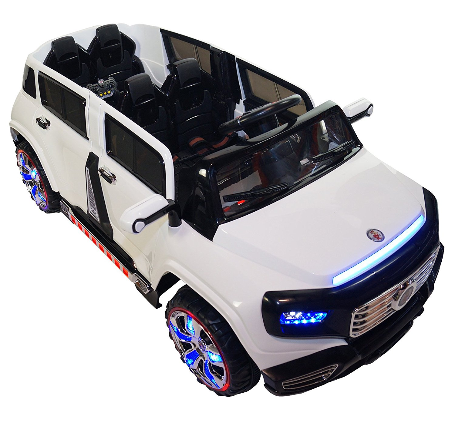 Two Seater Ride On 12v Battery Powered Toy Car with Remote ...